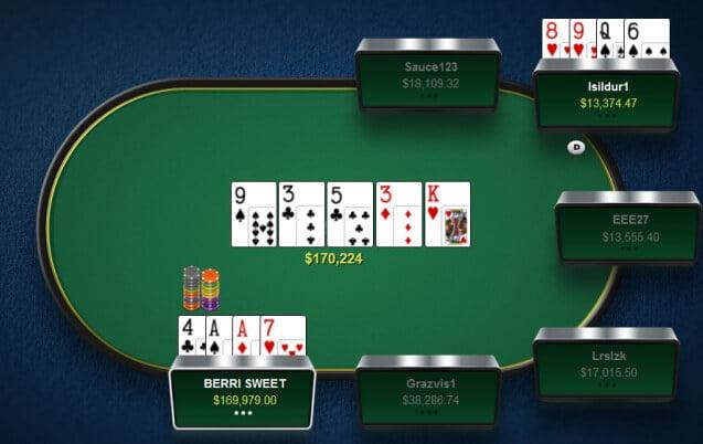 BERRI SWEET menang pot 170k