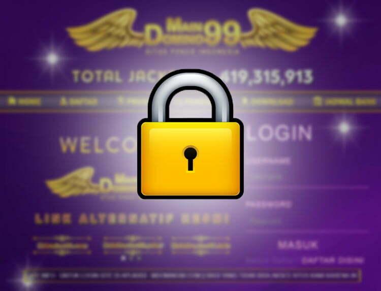 keamanan akun maindomino99