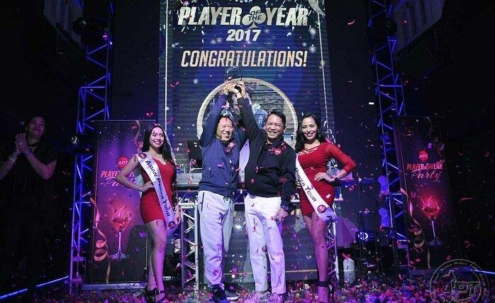 Tetsuya Tsuchikawa Dimahkotai APT Player Of The Year 2017