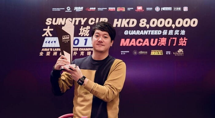 Je Ho Lee Memenangkan Suncity Cup 2017 HKD 8 Million