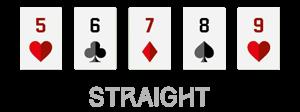 urutan kartu straight