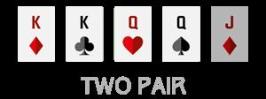 urutan kartu two pair