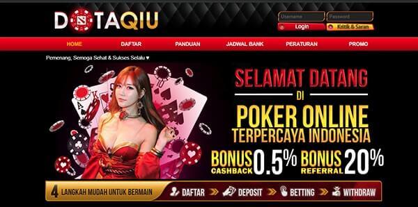 situs poker online terpopuler dotapoker